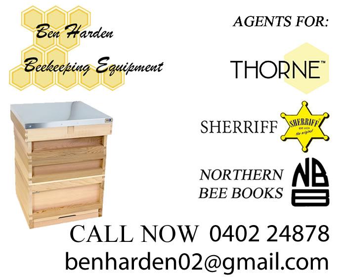 Ben Harden Beekeeping Equipment