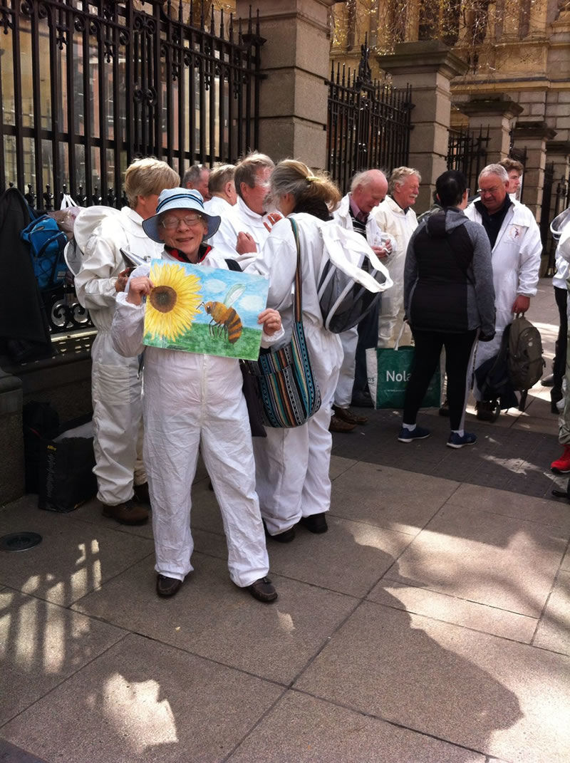 Beekeepers Gathering at The Dáil